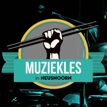 Muziekles Neushoorn